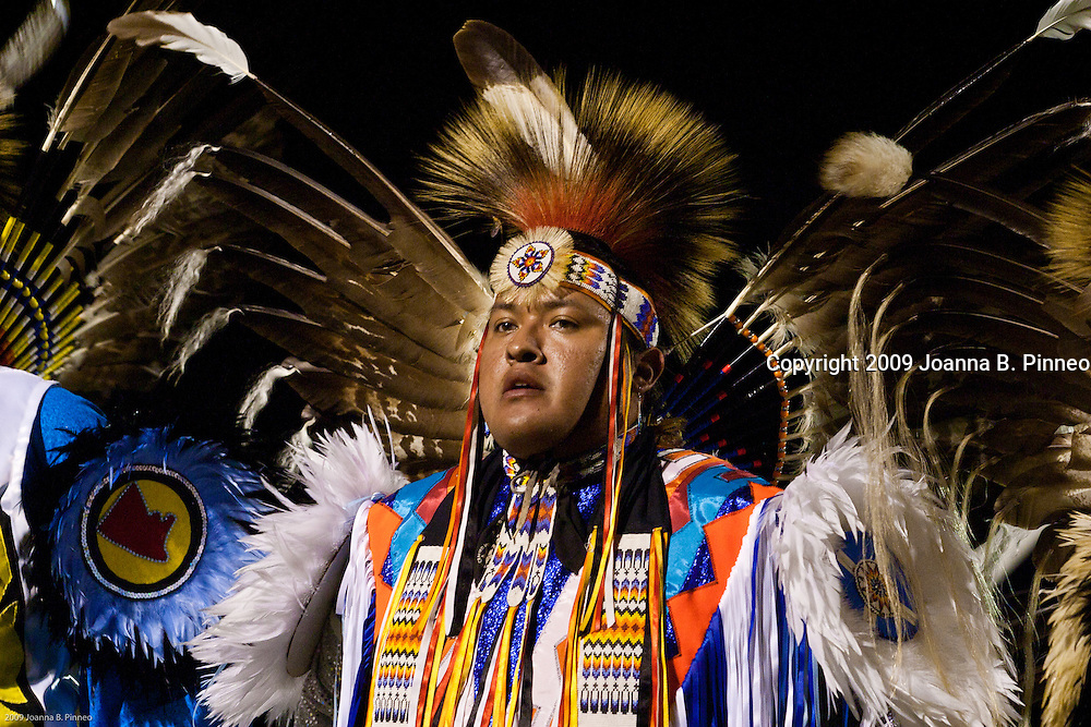 Kaw Native American Pow Wow participant, near Ponca City,  Oklahoma