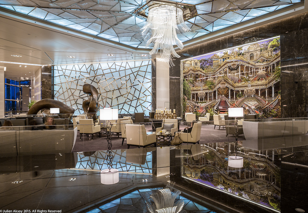 Client: Raffles Istanbul - Lobby
