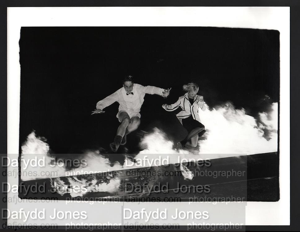 Burning Boat, Downing college, Cambridge 1984