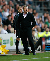 Photo: Steve Bond/Richard Lane Photography. Derby County v Sheffield United. Coca-Cola Championship. 13/09/2008. Paul Jewell, not happy after having a penalty decision reversed