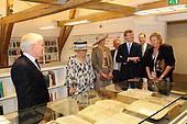 Koningin Beatrix opent huisvesting Raad van State
