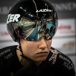 28-12-2018: Wielrennen: NK Baan: Apeldoorn<br />Loes Adegeest concentratie