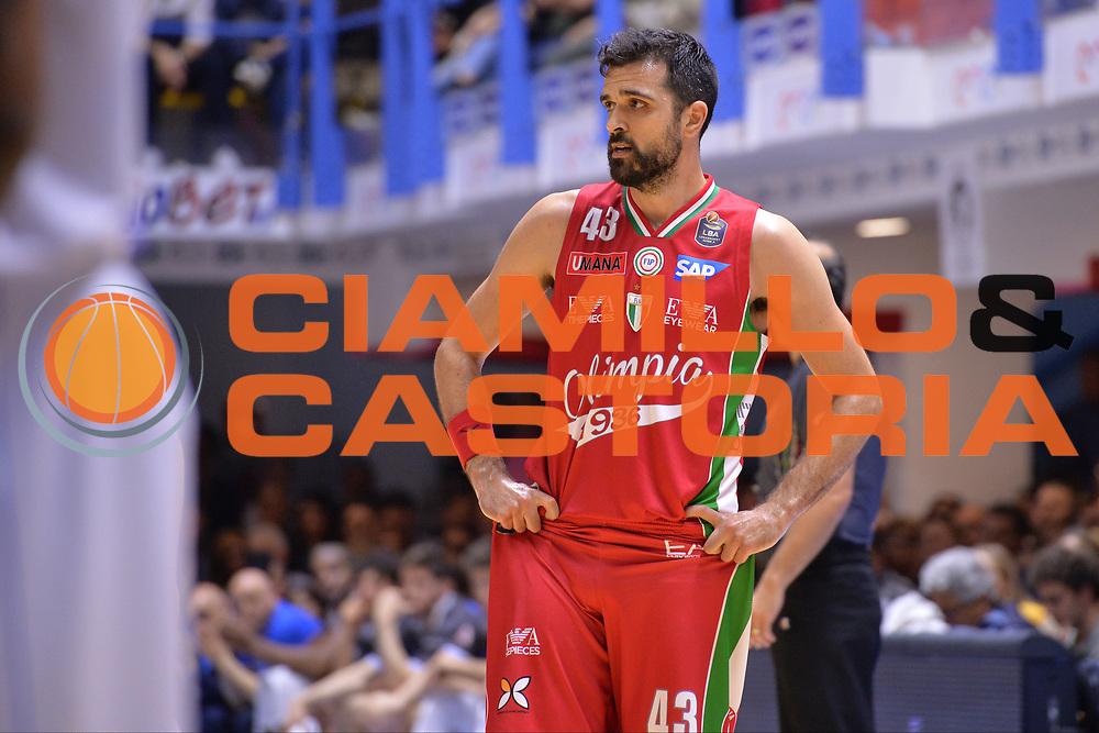 Simon Krunoslav<br /> Enel Brindisi - EA7 Emporio Armani Milano<br /> BASKET Serie A 2016-2017<br /> Brindisi 15/04/2017<br /> FOTO CIAMILLO / M.Longo