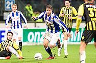 Voetbal Heerenveen Eredivisie 2014-2015 SC Heerenveen - Vitesse: Joey van den Berg (SC Heerenveen)