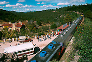 MEXICO, CHIHUAHUA STATE Copper Canyon Chihuahua-Pacific RR