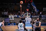 Abass Awudu Abass<br /> Pallacanestro Cantu' - Basket Leonessa Brescia<br /> Basket Serie A LBA 2018/2019<br /> Desio 07 April 2018<br /> Foto Mattia Ozbot / Ciamillo-Castoria