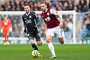Burnley defender Charlie Taylor in action during the Premier League match between Burnley and Leicester City at Turf Moor, Burnley, England on 19 January 2020.