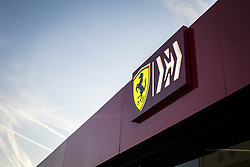 February 18, 2019 - Barcelona, Spain - Ferrari motorhome during Formula 1 winter tests from February 18 to 21, 2019 at Barcelona, Spain - Photo Motorsports: FIA Formula One World Championship 2019, Test in Barcelona, (Credit Image: © Hoch Zwei via ZUMA Wire)