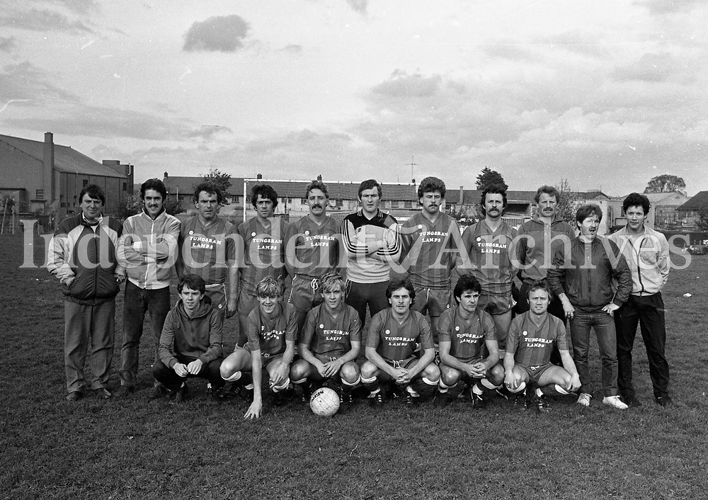Leinster Senior Soccer League, Ballyfermot FC, 29/10/1984 (Part of the Independent Newspapers Ireland/NLI Collection).