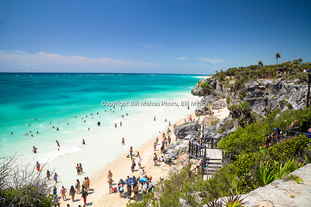 Cancun Mexico, June 2017, Family Trip, Tulum, Ruins, Ancient, Mayan, Civilization, People, Ocean, Beaches, White Sand, Palm Trees, Dock, Boats, Sail, Blue Water, Activities, Sports