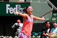 Lucie SAFAROVA  - 07.06.2015 - Jour 15 - Finale Double femmes - Roland Garros 2015<br />Photo : Nolwenn Le Gouic / Icon Sport