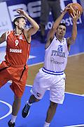 DESCRIZIONE : Qualificazioni EuroBasket 2015 Italia-Svizzera<br /> GIOCATORE : Andrea Cinciarini<br /> CATEGORIA : nazionale maschile senior A<br /> GARA : Qualificazioni EuroBasket 2015 - Italia-Svizzera<br /> DATA : 17/08/2014<br /> AUTORE : Agenzia Ciamillo-Castoria