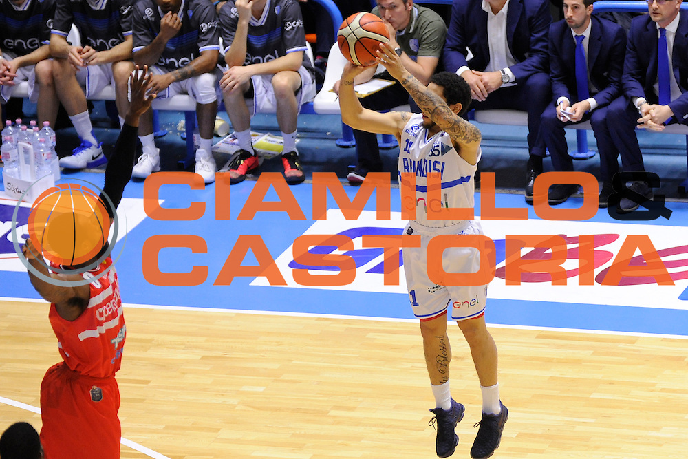 Moore Nic<br /> Enel Brindisi, Openjobmetis Varese<br /> Lega Basket Serie A 2016/2017<br /> Brindisi, 26/02//2017<br /> Foto Ciamillo-Castoria