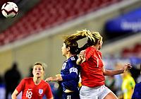 International Women's Friendly Matchs 2019 / <br /> SheBelieves Cup Tournament 2019 - <br /> Japan vs England 0-3 ( Raymond James Stadium - Tampa-FL,Usa ) - <br /> Toni Duggan of England (R) ,challenges with Aya Sameshima of Japan (L)