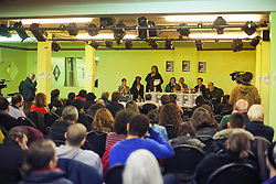 © Licensed to London News Pictures. 30/01/2014. London, UK. A public debate at North London Community Centre on Mark Duggan's trial. Photo credit : Andrea Baldo/LNP
