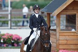 Mudde Justine, (NED), Lauda<br /> Equine MERC Young Riders Team Test<br /> Dutch Championship Dressage - Ermelo 2015<br /> © Hippo Foto - Dirk Caremans<br /> 17/07/15