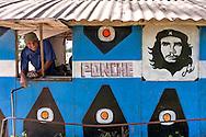 Image of Che at a ponchera in Santa Lucia, Pinar del Rio, Cuba.