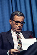 Harold Brown, born September 19, 1927, an American scientist, was U.S. Secretary of Defense from 1977 to 1981 in the cabinet of President Jimmy Carter. He had previously served in the Lyndon Johnson administration as Director of Defense Research and Engineering and Secretary of the Air Force.<br />