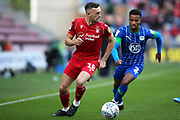 Nottingham Forest defender Jack Robinson (18) during the EFL Sky Bet Championship match between Wigan Athletic and Nottingham Forest at the DW Stadium, Wigan, England on 20 October 2019.