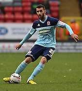 Picture by David Horn/Focus Images Ltd +44 7545 970036.03/11/2012.Stuart Parnaby of Middlesbrough during the npower Championship match at The Valley, London.