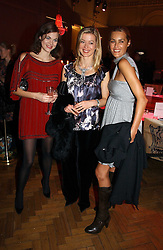 Left to right, JASMINE GUINNESS, LADY HELEN TAYLOR and YASMIN LE BON at the 6th annual Lancome Colour Design Awards in association with CLIC Sargent Cancer Care held at Lindley Hall, Victoria, London on 28th November 2006.<br /><br />NON EXCLUSIVE - WORLD RIGHTS