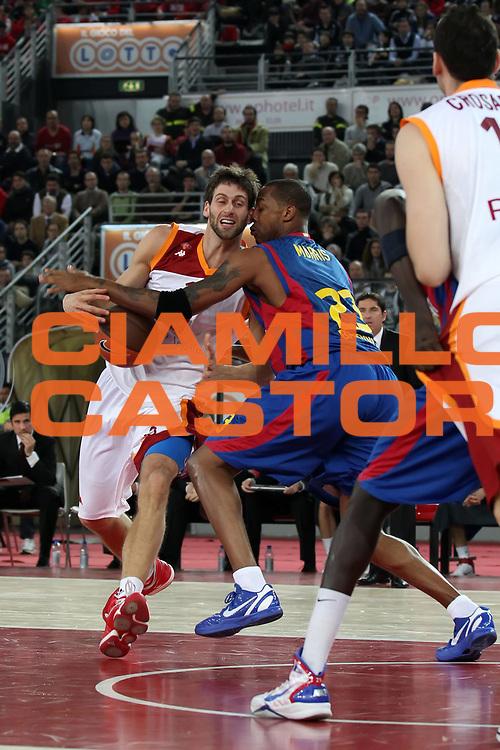 DESCRIZIONE : Roma Eurolega 2010-11 Top 16 Lottomatica Virtus Roma Regal Barcelona Barcellona<br /> GIOCATORE : Vladimir Dasic<br /> SQUADRA : Lottomatica Virtus Roma <br /> EVENTO : Eurolega 2010-2011<br /> GARA : Lottomatica Virtus Roma Regal Barcelona Barcellona Barcelona<br /> DATA : 17/02/2011<br /> CATEGORIA : palleggio<br /> SPORT : Pallacanestro <br /> AUTORE : Agenzia Ciamillo-Castoria/ElioCastoria<br /> Galleria : Eurolega 2010-2011<br /> Fotonotizia : Roma Eurolega 2010-11 Top 16 Lottomatica Virtus Roma Regal Barcelona Barcellona<br /> Predefinita :