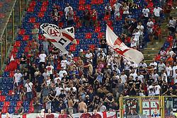 Foto Filippo Rubin/<br /> 12 agosto 2018 Torino, Italia<br /> sport calcio<br /> Bologna vs Padova - Coppa Italia 2018/2019 Terzo turno - stadio Renato Dall'Ara.<br /> Nella foto: I TIFOSI DEL PADOVA<br /> <br /> Photo Filippo Rubin/<br /> august 12, 2018 Turin, Italy<br /> sport soccer<br /> Bologna vs Padova - Italian Football Cup 2018/2019 Third Round - Renato Dall'Ara Stadium<br /> In the pic: PADOVA SUPPORTERS