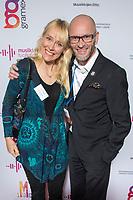 7.11.2017 Talvikauden avajaiset. Kuvassa (v-o) Laura Rislakki ja Petri Kiiski. Kuva Gramex/Matti Matikainen
