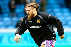 Harry Williams of Exeter Chiefs - Mandatory by-line: Robbie Stephenson/JMP - 08/12/2019 - RUGBY - AJ Bell Stadium - Manchester, England - Sale Sharks v Exeter Chiefs - Heineken Champions Cup
