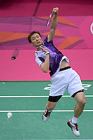 Lee Hyun ll, Korea, Bronze Medal Match Lost to Chen Long China, Mens Singles,  Olympic Badminton London Wembley 2012