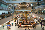 Duty Free shopping mall at Dubai International Airport.
