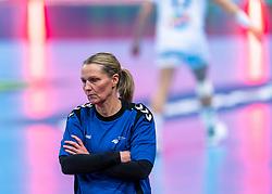 14-12-2018 FRA: Women European Handball Championships France - Netherlands, Paris<br /> Second semi final France - Netherlands / Coach Helle Thomsen of Netherlands lost again