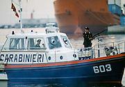Carabinieri armed police security in Venice, Italy