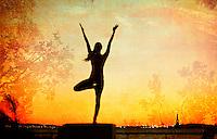 Yoga Poto-illustration