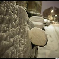 Turin under snow, Torino sotto la neve.