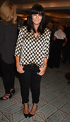 Claudia Winkleman at the Fortnum & Mason Food and Drink Awards, Fortnum & Mason Food and Drink Awards, London, England. 10 May 2018.