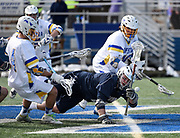 Hofstra University vs. Georgetown University Men's Lacrosse at Hofstra, Saturday, March 3, 2016. Photo by Kathy Kmonicek