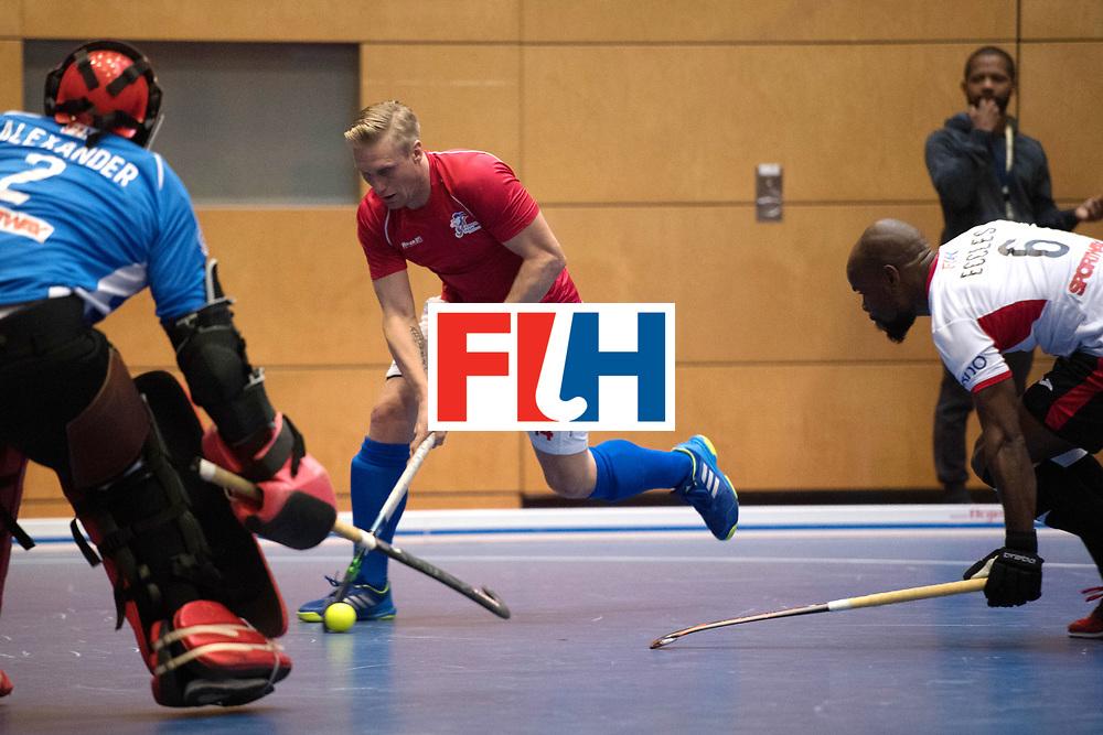 BERLIN - Indoor Hockey World Cup<br /> Czech Republic - Trinidad &amp; Tobago<br /> foto: KYNDL Jakub.<br /> WORLDSPORTPICS COPYRIGHT FRANK UIJLENBROEK
