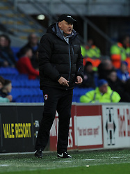 Cardiff City Manager, Russell Slade on the side line at Cardiff City Stadium for Sky Bet Championship match against Brentford - Photo mandatory by-line: Paul Knight/JMP - Mobile: 07966 386802 - 20/12/2014 - SPORT - Football - Cardiff - Cardiff City Stadium - Cardiff City v Brentford - Sky Bet Championship