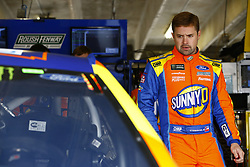 April 6, 2018 - Ft. Worth, Texas, United States of America - April 06, 2018 - Ft. Worth, Texas, USA: Ricky Stenhouse, Jr (17) hangs out in the garage during practice for the O'Reilly Auto Parts 500 at Texas Motor Speedway in Ft. Worth, Texas. (Credit Image: © Chris Owens Asp Inc/ASP via ZUMA Wire)