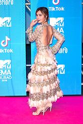 November 4, 2018 - Bilbao, Bizkaia, Spanien - Nadia de Santiago bei der Verleihung der MTV European Music Awards 2018 in der Bizkaia Arena. Bilbao, 04.11.2018 (Credit Image: © Future-Image via ZUMA Press)
