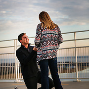 Images from a proposal on the Ravenel Bridge near Charleston and Mt. Pleasant, South Carolina.
