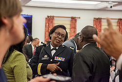 Deborah Howell The Adjutant General.  Governor Kenneth E. Mapp delivers the State of the Territory Address at the Earle B. Otlley Legislative Chambers.  St. Thomas, USVI.  30 January 2017.  © Aisha-Zakiya Boyd