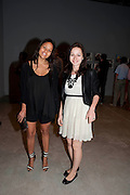RACHEL BARRETT; MARINA KURIKHINA, MOCA RECEPTION, Opening of ÔJonathan Meese: SculptureÔ, from the Knight Exhibition Series. Also on view: ÔBruce Weber: Haiti / Little HaitiÔ, Hosted by Bonnie Clearwater and Vanity Fair International. Museum of Contemporary Art, 770 NE 125 Street, North Miami 30 NOVEMBER 2010. -DO NOT ARCHIVE-© Copyright Photograph by Dafydd Jones. 248 Clapham Rd. London SW9 0PZ. Tel 0207 820 0771. www.dafjones.com.<br /> RACHEL BARRETT; MARINA KURIKHINA, MOCA RECEPTION, Opening of 'Jonathan Meese: Sculpture', from the Knight Exhibition Series. Also on view: 'Bruce Weber: Haiti / Little Haiti', Hosted by Bonnie Clearwater and Vanity Fair International. Museum of Contemporary Art, 770 NE 125 Street, North Miami 30 NOVEMBER 2010. -DO NOT ARCHIVE-© Copyright Photograph by Dafydd Jones. 248 Clapham Rd. London SW9 0PZ. Tel 0207 820 0771. www.dafjones.com.
