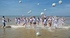 20140718 NED: Zomerkamp Volleybal clinic Bas van de Goor Foundation, Scheveningen