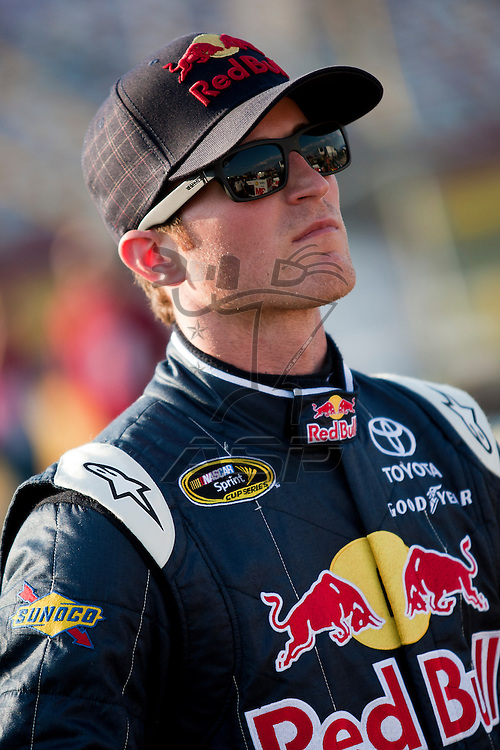 CONCORD, NC - MAY 20, 2011:  Kasey kahne prepares to take to the track for the All-Star Race qualifying session at the Charlotte Motor Speedway in Concord, NC.
