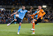 SYDNEY, AUSTRALIA - AUGUST 07: Sydney FC player Ryan McGowan (6) kicks the ball during the FFA Cup round of 32 football match between Sydney FC and Brisbane Roar FC on August 07, 2019 at Leichhardt Oval in Sydney, Australia. (Photo by Speed Media/Icon Sportswire)