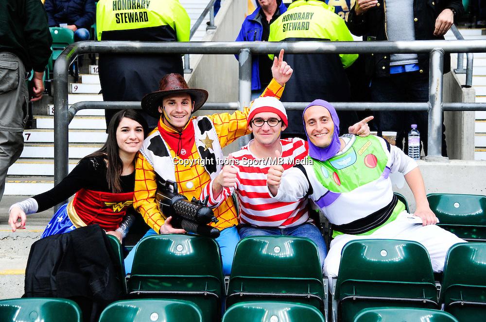 Supporters - 02.05.2015 - Clermont / Toulon - Finale European Champions Cup -Twickenham<br />Photo : Dave Winter / Icon Sport