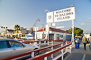 Balboa Island Ferry Transportation in Newport Beach California