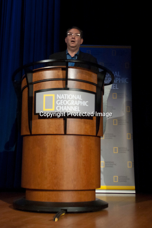 """Photos of the 25th anniversary of """"Explorer,"""" television show at the National Geographic Headquarters in Washington DC on April 13, 2010"""